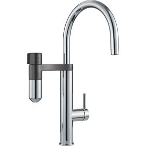 Exclusivité Filtration Franke<br> Vital 2in1 Goulot mobile <br> Chrome-Gun Metal