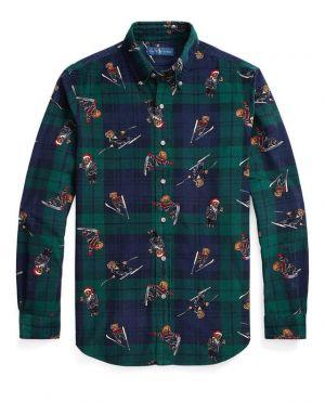 Chemise à carreaux Polo Bear Classic Fit
