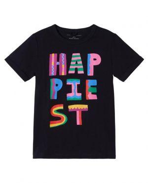 T-shirt coloré fille Happiest