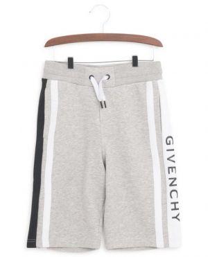 Short en coton bande logo Givenchy