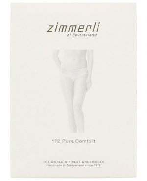 Culotte en coton mélangé et dentelle 172 Pure Comfort