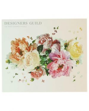 Puzzle à la forme d'un bouquet de fleurs Designers Guild - 750 pièces