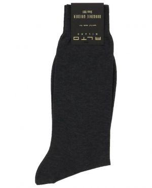 Chaussettes fines courtes unies