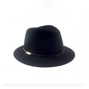Jimmy Choo hat in black felt
