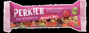 8 X PERK!ER Goji & Cranberry Quinoa Bar 35g