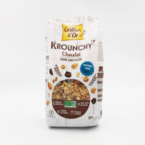 Krounchy - Céréales aux chocolat et avoine