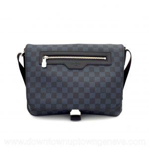 Louis Vuitton messenger bag in damier cobalt