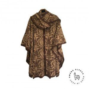 Barroco tricot brun & camel