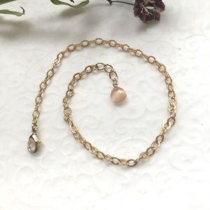 Bracelet chance goutte en pierre de lune