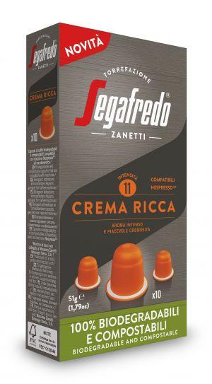 Classiques Crema Ricca - boîte de 10 capsules - Capsules compatibles Nespresso*