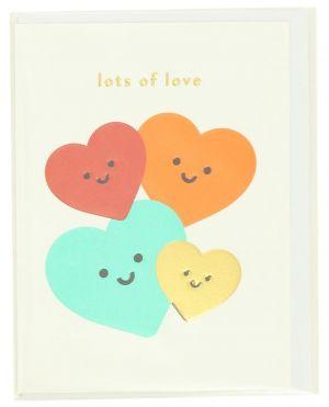 Carte postale Lots Of Love