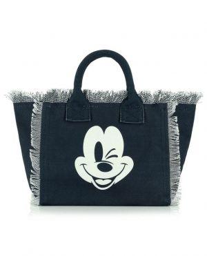 Petit sac cabas en toile imprimée Colette Mickey