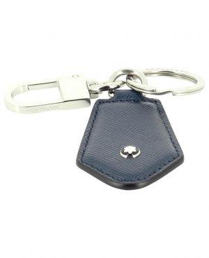 Porte-clés en cuir saffiano Sartorial Diamond