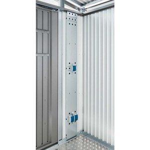 Panneau d'installation électrique p. HL.AvantGarde et Panorama 20x4 x185 cm