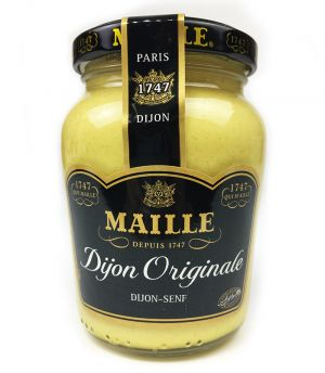Moutarde Maille Dijon blanche bocal 200 g