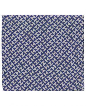 Pochette en soie imprimée MiniH