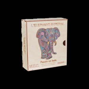 Puzzle en bois - Eléphant Impérial