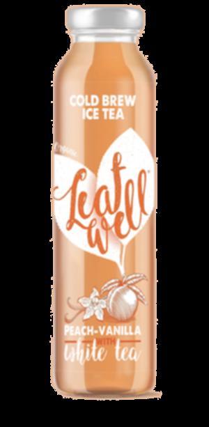 6 X Leafwell PEACH-VANILLA Bottle 330ml
