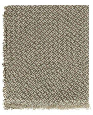 Écharpe légère imprimée monogrammes Badsmall