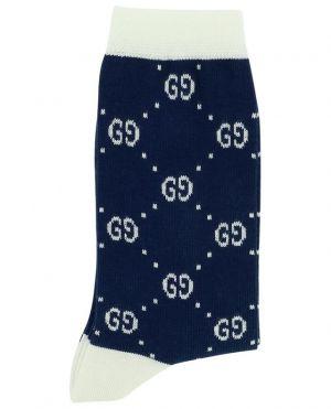 Chaussettes en coton mélangé imprimé logo