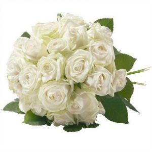 ID: 48496 Bouquet de roses blanches