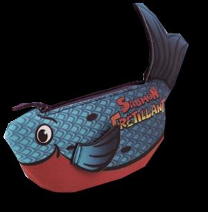 Saumon Frétillant - Bleu