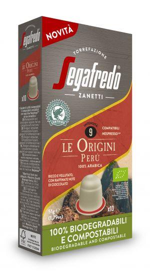 Origini Peru - BIO & Rainforest - boîte de 10 capsules - Capsules compatibles Nespresso*
