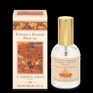 Parfum Vanille et Gingembre 50 ml