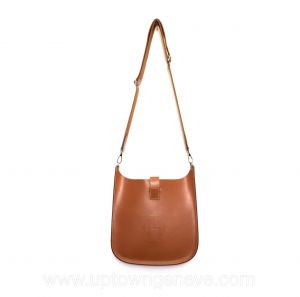 Hermès Evelyne Sellier bag in cow hide leather