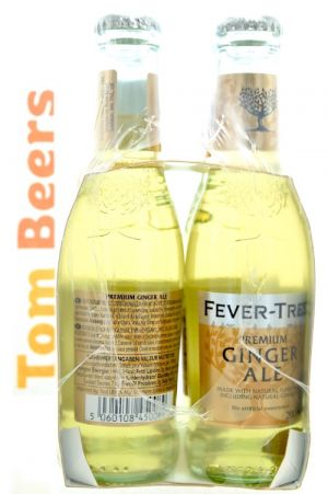 FEVER-TREE GINGER ALE PACK 4