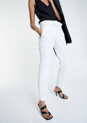 Pantalon Marie ceinturé