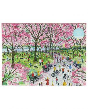 Puzzle motif Central Park Cherry Blossoms - 1000 pièces