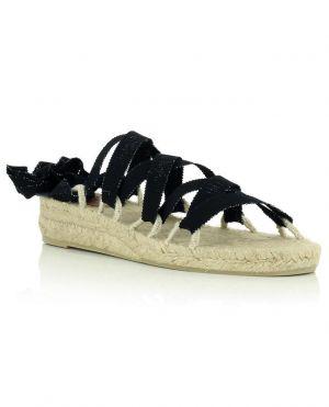 Sandales à lacer à petit talon compensé Paloma