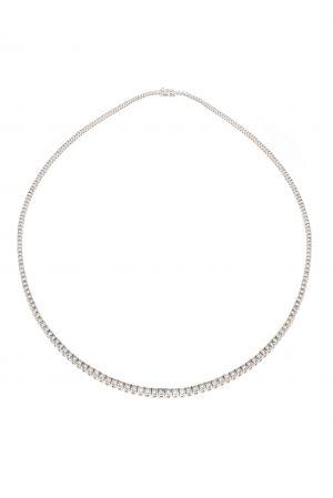 Collier diamants blancs