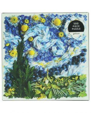 Puzzle fleuri Starry Night Petals - 500 pièces