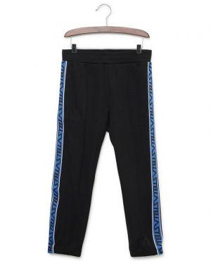 Pantalon de jogging en coton mélangé Logo Tape