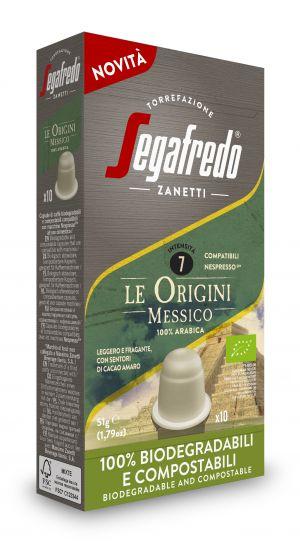 Origini Mexico BIO - boîte de 10 capsules - Capsules compatibles Nespresso*