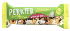 8 X PERK!ER Peanut Quinoa Bar 35g