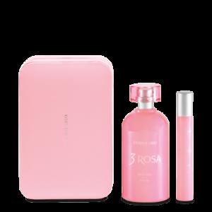 Coffret Parfum 3 Rose Promotion