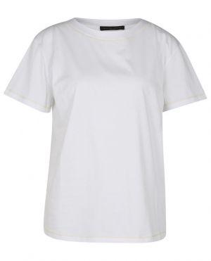 T-shirt ample en jersey et cachemire