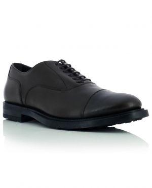 Chaussures à lacets en cuir lisse Francesina