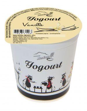 Yogourt au lait de vache - Vanille