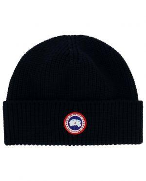 Bonnet en laine côtelée Arctic Disc