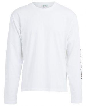T-shirt à manches longues imprimé logo Kenzo Sport