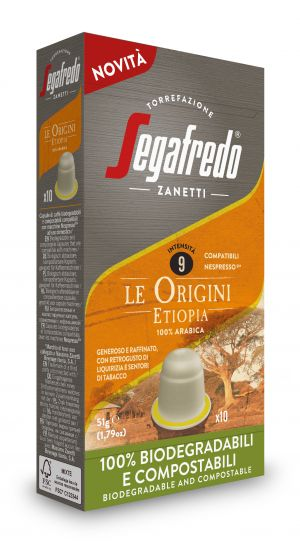 Origini Ethiopia - boîte de 10 capsules - Capsules compatibles Nespresso*