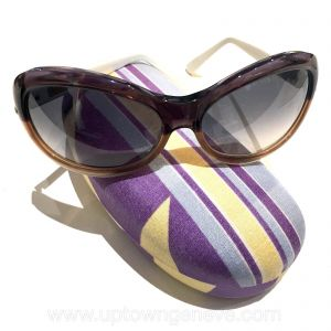 Marni sunglasses with brown & purple frames