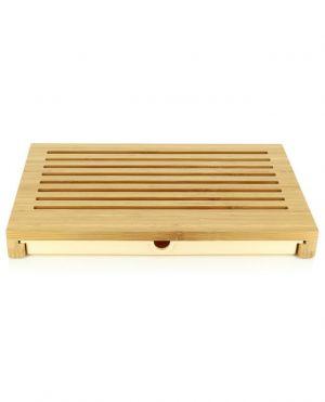 Planche à pain en bambou Sbriciola