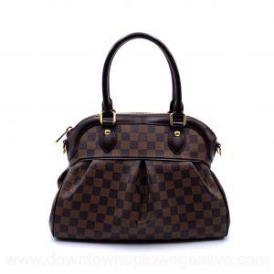Louis Vuitton Trevi PM bag in damier ebene