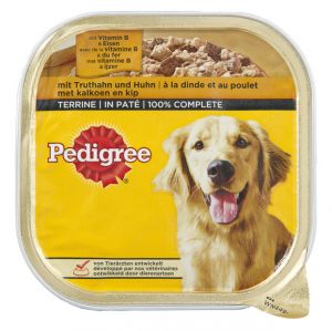 PEDIGREE TERRINE DINDE 300G