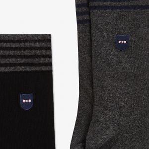 Coffret de quatre paires de chaussettes mi-hautes
